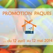 Promotion Pâques 2014
